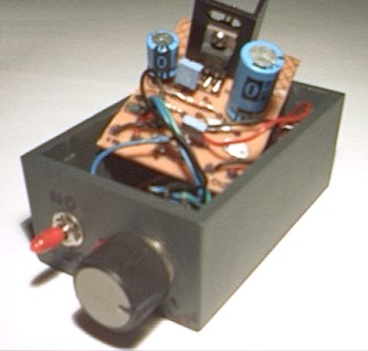 Miniature audio amplifier 10 Watt